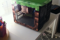 buildlogs minecraft building outside