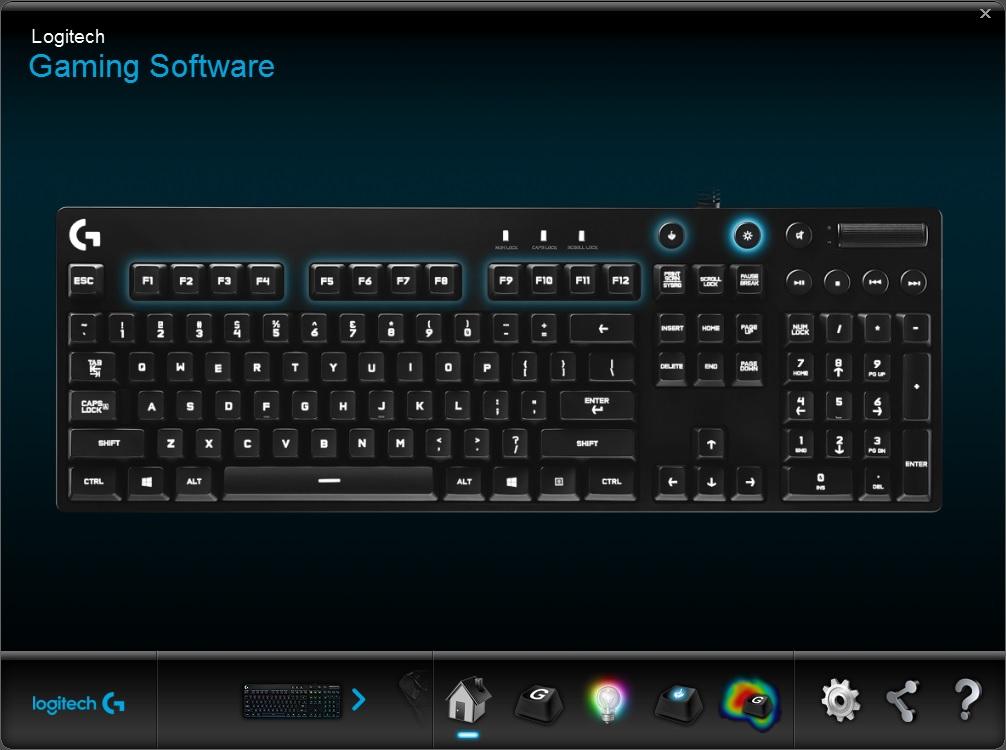 g810 software