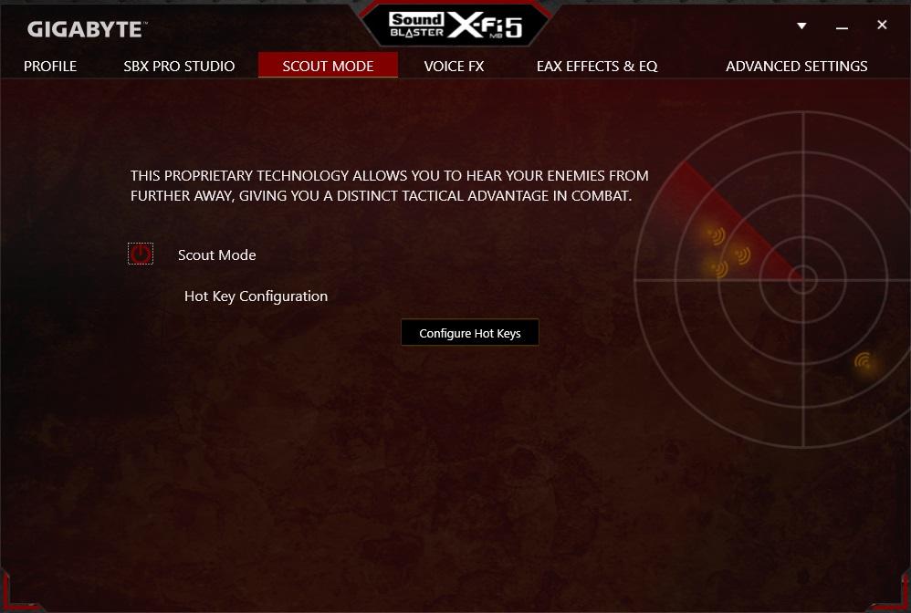 x-fi-scout-mode